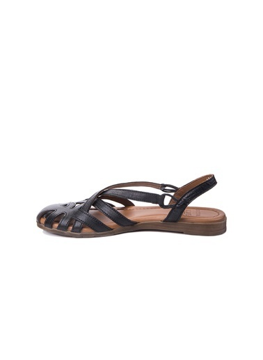 Beta Deri Sandalet Siyah